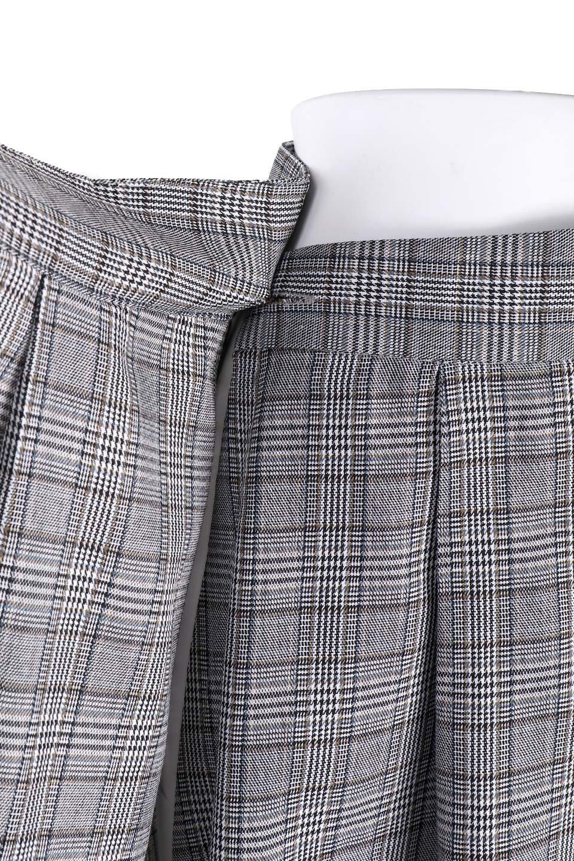 GlenCheckWrapSkirtグレンチェック・ラップスカート大人カジュアルに最適な海外ファッションのothers(その他インポートアイテム)のボトムやスカート。今季人気のグレンチェックのアイテム。ヒラヒラドレープが魅力の巻きスカートです。/main-6