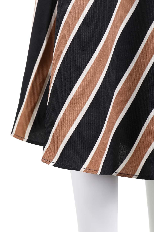 RetroStripeWrapSkirtマルチストライプ・ラップスカート大人カジュアルに最適な海外ファッションのothers(その他インポートアイテム)のボトムやスカート。マルチストライプが可愛いミディ丈ラップスカート。秋冬に必ず気になるレトロコーデ。/main-7