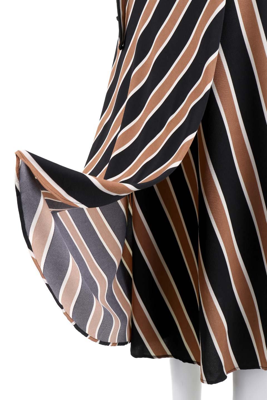 RetroStripeWrapSkirtマルチストライプ・ラップスカート大人カジュアルに最適な海外ファッションのothers(その他インポートアイテム)のボトムやスカート。マルチストライプが可愛いミディ丈ラップスカート。秋冬に必ず気になるレトロコーデ。/main-8
