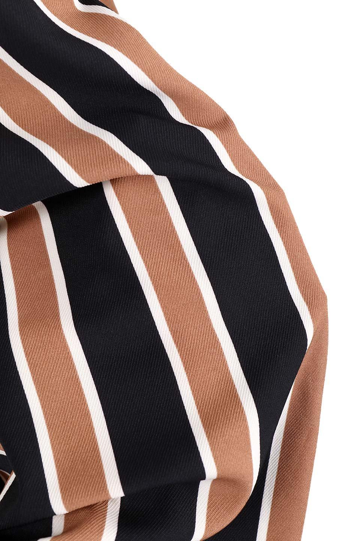 RetroStripeWrapSkirtマルチストライプ・ラップスカート大人カジュアルに最適な海外ファッションのothers(その他インポートアイテム)のボトムやスカート。マルチストライプが可愛いミディ丈ラップスカート。秋冬に必ず気になるレトロコーデ。/main-9