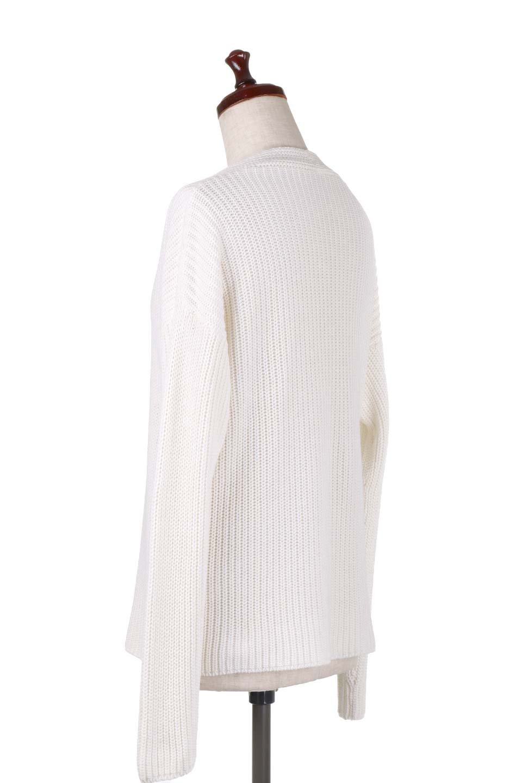 WashedV-neckPulloverウォッシュ加工・Vネックセーター大人カジュアルに最適な海外ファッションのothers(その他インポートアイテム)のトップスやニット・セーター。シンプルデザインのVネックのルーズセーター。ウォッシュ加工が魅力のこのセーターは、コットンなので春先まで楽しめます。/main-13