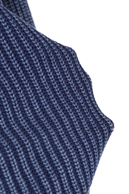 WashedV-neckPulloverウォッシュ加工・Vネックセーター大人カジュアルに最適な海外ファッションのothers(その他インポートアイテム)のトップスやニット・セーター。シンプルデザインのVネックのルーズセーター。ウォッシュ加工が魅力のこのセーターは、コットンなので春先まで楽しめます。/main-9