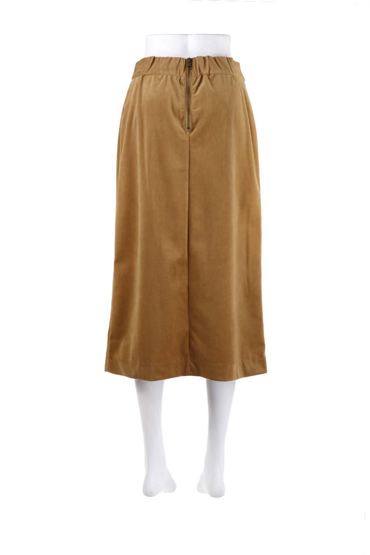 VelveteenWrapSkirtベッチン素材ラップスカート大人カジュアルに最適な海外ファッションのothers(その他インポートアイテム)のボトムやスカート。肌触りの良い別珍素材のラップスカート。スタイルが良く見えるペンシルスカートタイプのシルエットで、ヒールの高いパンプスでもカジュアルなスニーカーでもOK。/main-12