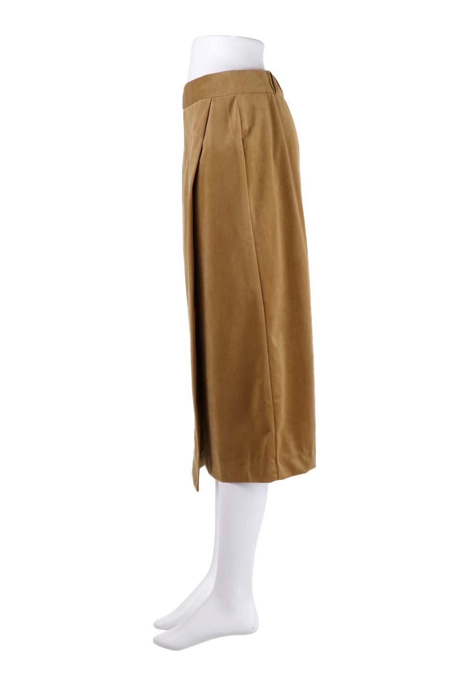 VelveteenWrapSkirtベッチン素材ラップスカート大人カジュアルに最適な海外ファッションのothers(その他インポートアイテム)のボトムやスカート。肌触りの良い別珍素材のラップスカート。スタイルが良く見えるペンシルスカートタイプのシルエットで、ヒールの高いパンプスでもカジュアルなスニーカーでもOK。/main-13