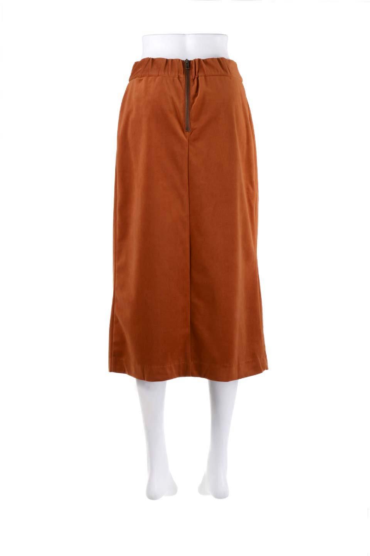 VelveteenWrapSkirtベッチン素材ラップスカート大人カジュアルに最適な海外ファッションのothers(その他インポートアイテム)のボトムやスカート。肌触りの良い別珍素材のラップスカート。スタイルが良く見えるペンシルスカートタイプのシルエットで、ヒールの高いパンプスでもカジュアルなスニーカーでもOK。/main-16