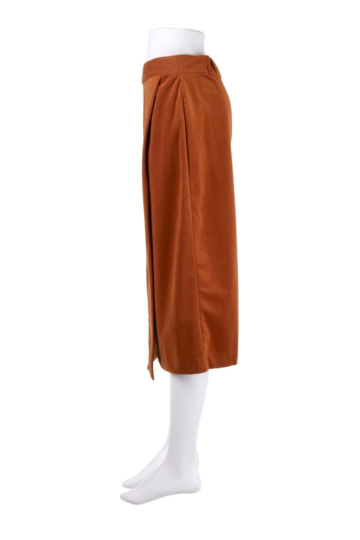 VelveteenWrapSkirtベッチン素材ラップスカート大人カジュアルに最適な海外ファッションのothers(その他インポートアイテム)のボトムやスカート。肌触りの良い別珍素材のラップスカート。スタイルが良く見えるペンシルスカートタイプのシルエットで、ヒールの高いパンプスでもカジュアルなスニーカーでもOK。/main-18
