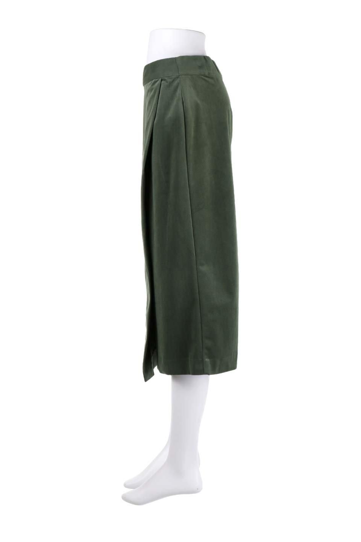 VelveteenWrapSkirtベッチン素材ラップスカート大人カジュアルに最適な海外ファッションのothers(その他インポートアイテム)のボトムやスカート。肌触りの良い別珍素材のラップスカート。スタイルが良く見えるペンシルスカートタイプのシルエットで、ヒールの高いパンプスでもカジュアルなスニーカーでもOK。/main-22