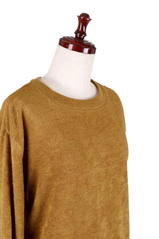 EmbroideredSleeveSoftknitTop刺繍入り・ソフトニットトップス大人カジュアルに最適な海外ファッションのothers(その他インポートアイテム)のトップスやニット・セーター。刺繍入りのボリューミーな袖が可愛いトップス。なめらかでソフトな生地感です。/main-5