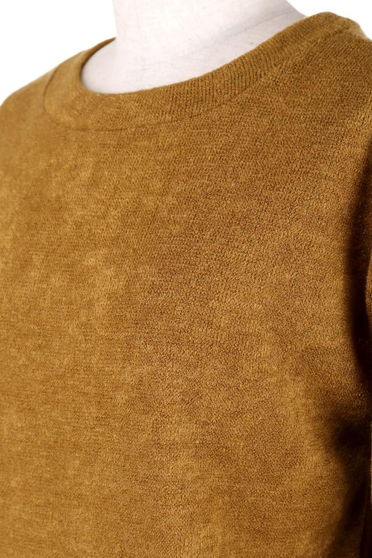 EmbroideredSleeveSoftknitTop刺繍入り・ソフトニットトップス大人カジュアルに最適な海外ファッションのothers(その他インポートアイテム)のトップスやニット・セーター。刺繍入りのボリューミーな袖が可愛いトップス。なめらかでソフトな生地感です。/main-6
