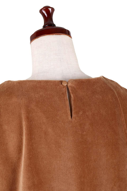 FineCorduroySoftTopリボンスリーブ・コーデュロイトップス大人カジュアルに最適な海外ファッションのothers(その他インポートアイテム)のトップスやシャツ・ブラウス。ベロアの様な柔らかさの細うねコーデュロイのトップス。適度なルーズさと着丈の長さでボトムの合わせに困る事はなさそうです。/main-5