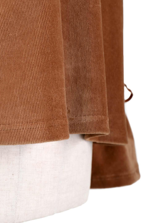 FineCorduroySoftTopリボンスリーブ・コーデュロイトップス大人カジュアルに最適な海外ファッションのothers(その他インポートアイテム)のトップスやシャツ・ブラウス。ベロアの様な柔らかさの細うねコーデュロイのトップス。適度なルーズさと着丈の長さでボトムの合わせに困る事はなさそうです。/main-6