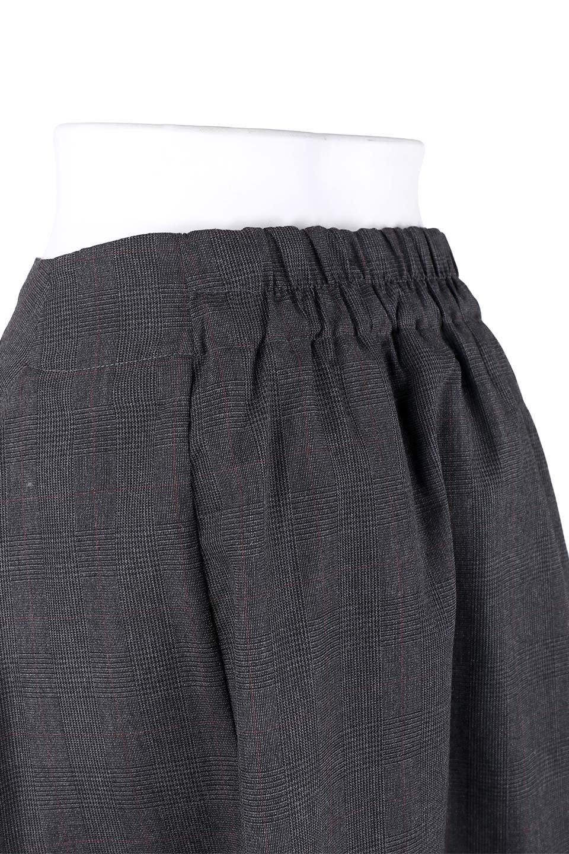 GlenCheckAsymmetricalWrapSkirtグレンチェック・ラップスカート大人カジュアルに最適な海外ファッションのothers(その他インポートアイテム)のボトムやスカート。今季人気のグレンチェックのスカート。ヒラヒラドレープが魅力のアシメントリータイプの巻きスカートです。/main-6