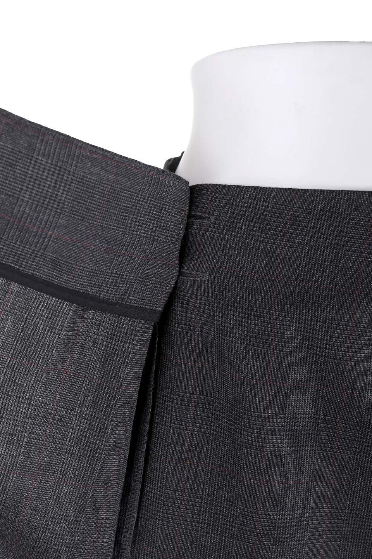 GlenCheckAsymmetricalWrapSkirtグレンチェック・ラップスカート大人カジュアルに最適な海外ファッションのothers(その他インポートアイテム)のボトムやスカート。今季人気のグレンチェックのスカート。ヒラヒラドレープが魅力のアシメントリータイプの巻きスカートです。/main-7