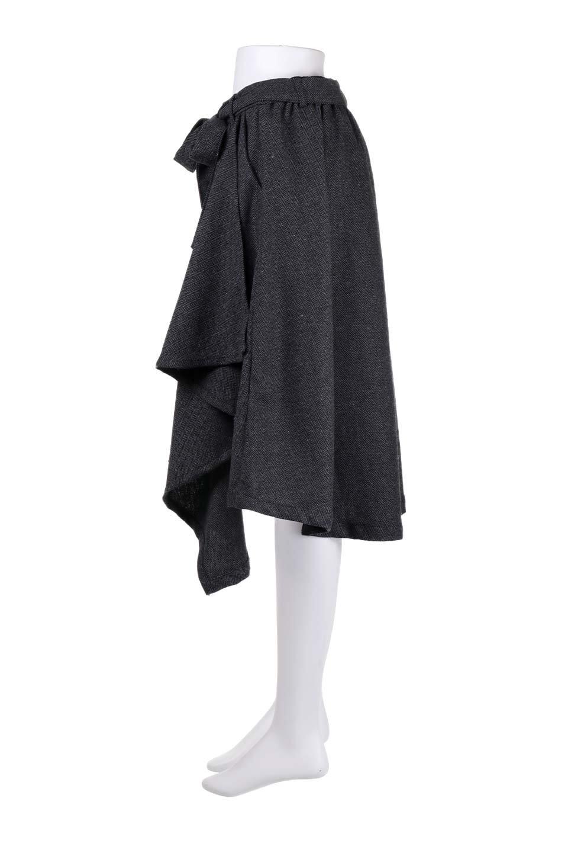 HerringboneWrapSkirtヘリンボーンラップスカート大人カジュアルに最適な海外ファッションのothers(その他インポートアイテム)のボトムやスカート。ツイードの様なヘリンボーン生地のラップスカート。アシメントリーなデザインのフレアタイプのスカートです。/main-12