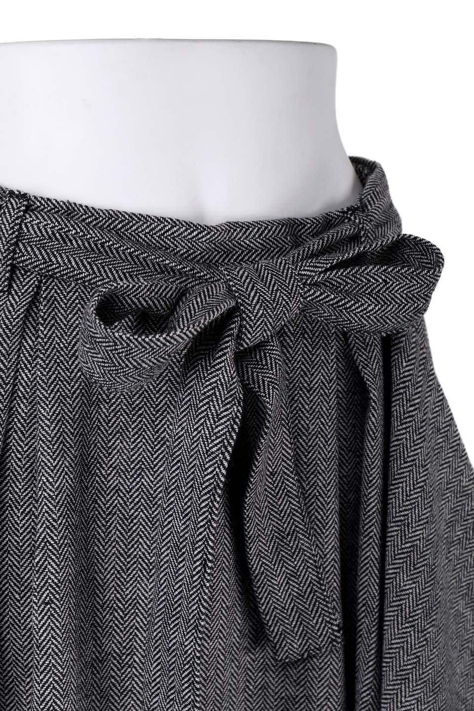 HerringboneWrapSkirtヘリンボーンラップスカート大人カジュアルに最適な海外ファッションのothers(その他インポートアイテム)のボトムやスカート。ツイードの様なヘリンボーン生地のラップスカート。アシメントリーなデザインのフレアタイプのスカートです。/main-5