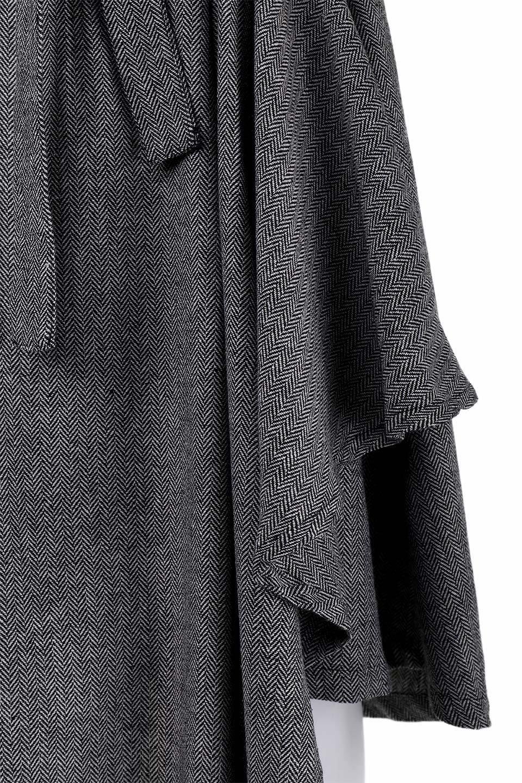 HerringboneWrapSkirtヘリンボーンラップスカート大人カジュアルに最適な海外ファッションのothers(その他インポートアイテム)のボトムやスカート。ツイードの様なヘリンボーン生地のラップスカート。アシメントリーなデザインのフレアタイプのスカートです。/main-7