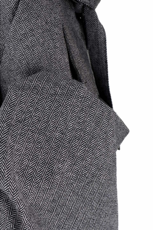 HerringboneWrapSkirtヘリンボーンラップスカート大人カジュアルに最適な海外ファッションのothers(その他インポートアイテム)のボトムやスカート。ツイードの様なヘリンボーン生地のラップスカート。アシメントリーなデザインのフレアタイプのスカートです。/main-9