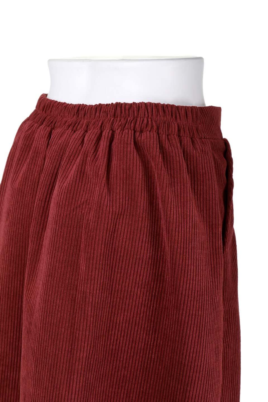 WideWaleCorduroyFloralEmbro.Skirt花刺繍入りコーデュロイスカート大人カジュアルに最適な海外ファッションのothers(その他インポートアイテム)のボトムやスカート。温かみのある太うねコーデュロイの刺繍スカート。秋冬大人気の素材、太うねコーデュロイを使用したエレガント&カジュアルなアイテムです。/main-7