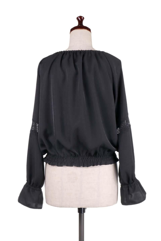 CandySleeveLaceBlouseキャンディースリーブ・レースブラウス大人カジュアルに最適な海外ファッションのothers(その他インポートアイテム)のトップスやシャツ・ブラウス。キャンディースリーブが可愛い長袖ブラウス。女性らしさをアピールするレースのテープもポイントです。/main-16