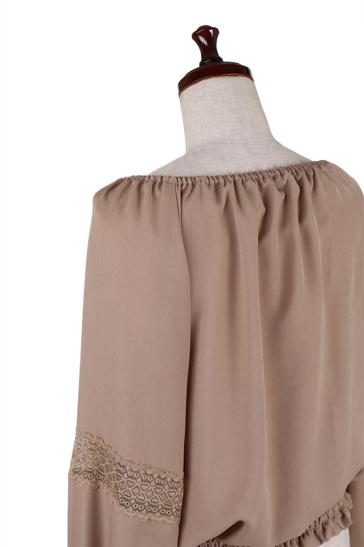CandySleeveLaceBlouseキャンディースリーブ・レースブラウス大人カジュアルに最適な海外ファッションのothers(その他インポートアイテム)のトップスやシャツ・ブラウス。キャンディースリーブが可愛い長袖ブラウス。女性らしさをアピールするレースのテープもポイントです。/main-6