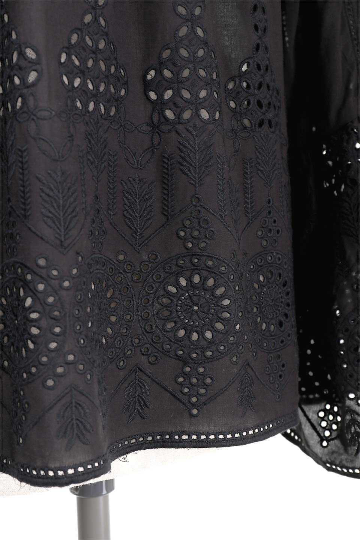 LOVESTITCHのBellSleeveEmbroideredTopカットワーク・ベルスリーブブラウス/海外ファッションが好きな大人カジュアルのためのLOVESTITCH(ラブステッチ)のトップスやシャツ・ブラウス。大人カジュアルなコーデにピッタリなカットワークのベルスリーブブラウス。全体的に入ったカットワークがとても可愛いブラウスです。/main-12