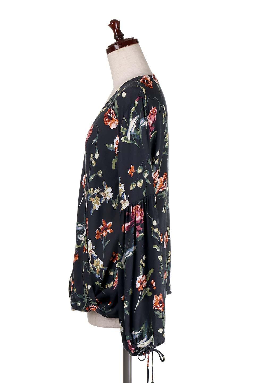 LOVESTITCHのAlishaTop花柄長袖ブラウス/海外ファッションが好きな大人カジュアルのためのLOVESTITCH(ラブステッチ)のトップスやシャツ・ブラウス。大人っぽい花柄がおすすめポイントのブラウス。フワッと膨らんだ袖はキュッと絞ればビショップスリーブ。/main-2
