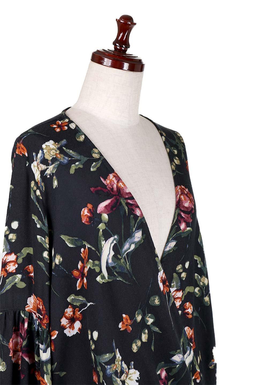 LOVESTITCHのAlishaTop花柄長袖ブラウス/海外ファッションが好きな大人カジュアルのためのLOVESTITCH(ラブステッチ)のトップスやシャツ・ブラウス。大人っぽい花柄がおすすめポイントのブラウス。フワッと膨らんだ袖はキュッと絞ればビショップスリーブ。/main-6