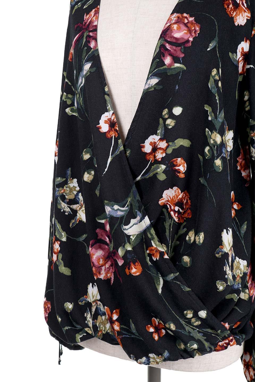 LOVESTITCHのAlishaTop花柄長袖ブラウス/海外ファッションが好きな大人カジュアルのためのLOVESTITCH(ラブステッチ)のトップスやシャツ・ブラウス。大人っぽい花柄がおすすめポイントのブラウス。フワッと膨らんだ袖はキュッと絞ればビショップスリーブ。/main-7