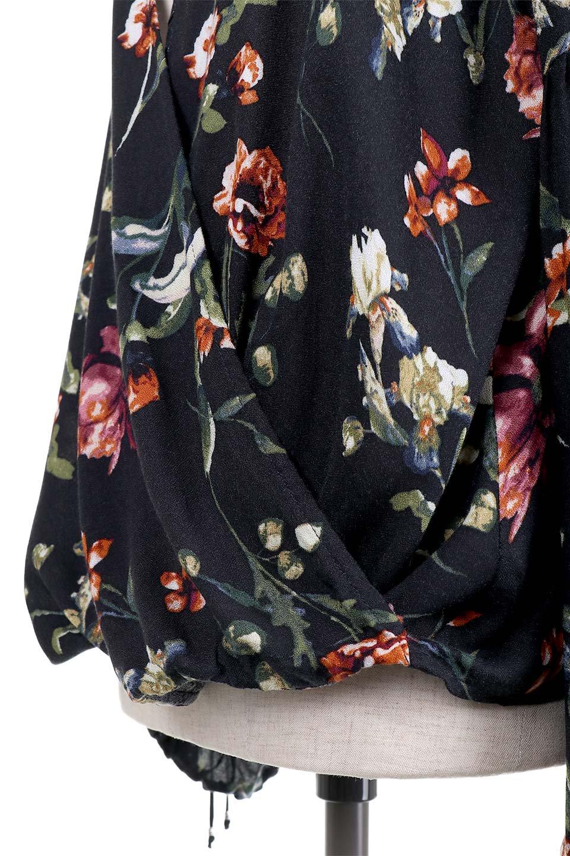 LOVESTITCHのAlishaTop花柄長袖ブラウス/海外ファッションが好きな大人カジュアルのためのLOVESTITCH(ラブステッチ)のトップスやシャツ・ブラウス。大人っぽい花柄がおすすめポイントのブラウス。フワッと膨らんだ袖はキュッと絞ればビショップスリーブ。/main-9