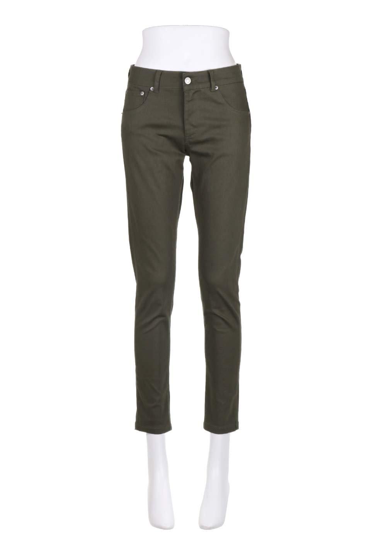StretchTwillSkinnyPantsストレッチスキニーパンツ大人カジュアルに最適な海外ファッションのothers(その他インポートアイテム)のボトムやパンツ。ツイル生地のストレッチスキニーパンツ。困った時に頼りになる万能パンツ。/main-10