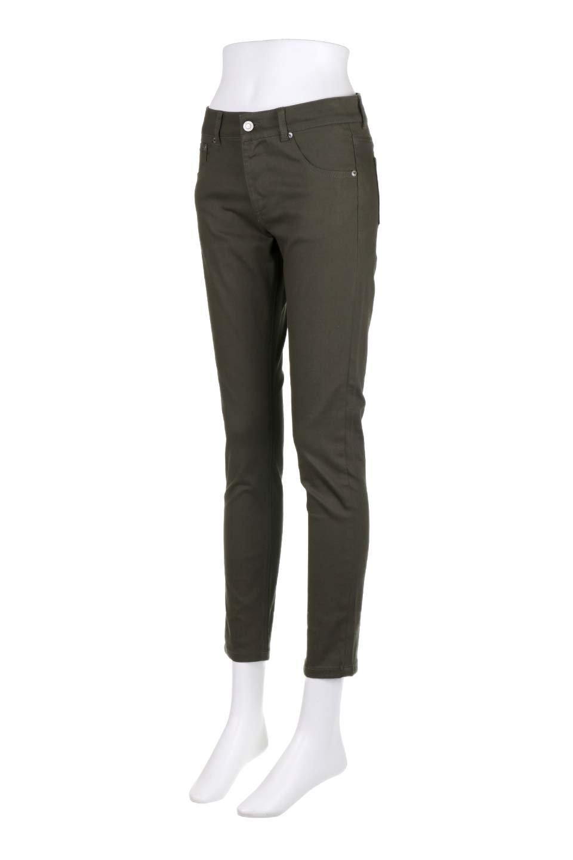 StretchTwillSkinnyPantsストレッチスキニーパンツ大人カジュアルに最適な海外ファッションのothers(その他インポートアイテム)のボトムやパンツ。ツイル生地のストレッチスキニーパンツ。困った時に頼りになる万能パンツ。/main-11