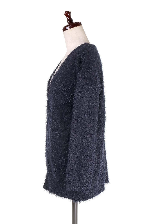 ShaggyKnitLongCardiganシャギーニット・ロングカーディガン大人カジュアルに最適な海外ファッションのothers(その他インポートアイテム)のトップスやニット・セーター。フワフワニットのロングカーディガン。しっとりソフトなシャギーニットを使用して肌触りが最高なカーデです。/main-12