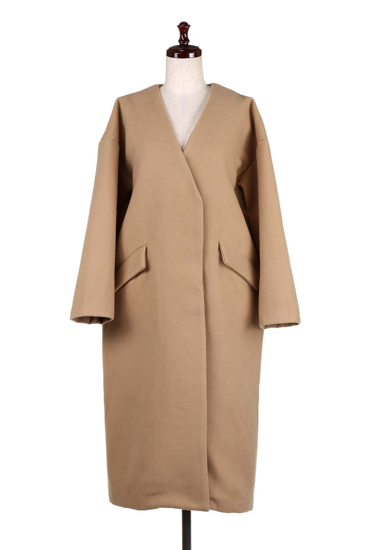 DropShoulderChesterCoatドロップショルダー・チェスターコート大人カジュアルに最適な海外ファッションのothers(その他インポートアイテム)のアウターやコート。オーバーサイズのドロップショルダー・チェスターコート。秋冬コーデでは絶対にはずせないチェスターコート。/main-10