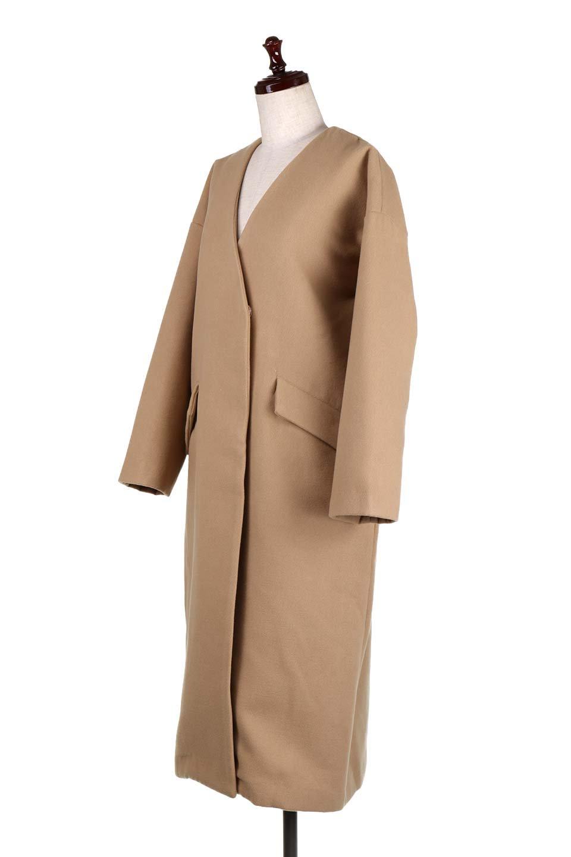 DropShoulderChesterCoatドロップショルダー・チェスターコート大人カジュアルに最適な海外ファッションのothers(その他インポートアイテム)のアウターやコート。オーバーサイズのドロップショルダー・チェスターコート。秋冬コーデでは絶対にはずせないチェスターコート。/main-11