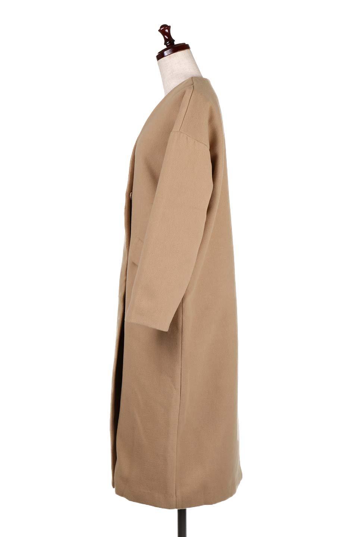 DropShoulderChesterCoatドロップショルダー・チェスターコート大人カジュアルに最適な海外ファッションのothers(その他インポートアイテム)のアウターやコート。オーバーサイズのドロップショルダー・チェスターコート。秋冬コーデでは絶対にはずせないチェスターコート。/main-12
