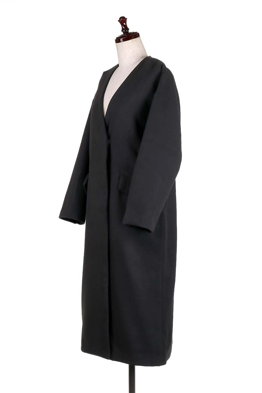 DropShoulderChesterCoatドロップショルダー・チェスターコート大人カジュアルに最適な海外ファッションのothers(その他インポートアイテム)のアウターやコート。オーバーサイズのドロップショルダー・チェスターコート。秋冬コーデでは絶対にはずせないチェスターコート。/main-16