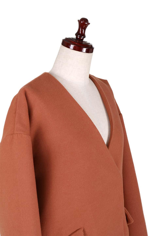 DropShoulderChesterCoatドロップショルダー・チェスターコート大人カジュアルに最適な海外ファッションのothers(その他インポートアイテム)のアウターやコート。オーバーサイズのドロップショルダー・チェスターコート。秋冬コーデでは絶対にはずせないチェスターコート。/main-20