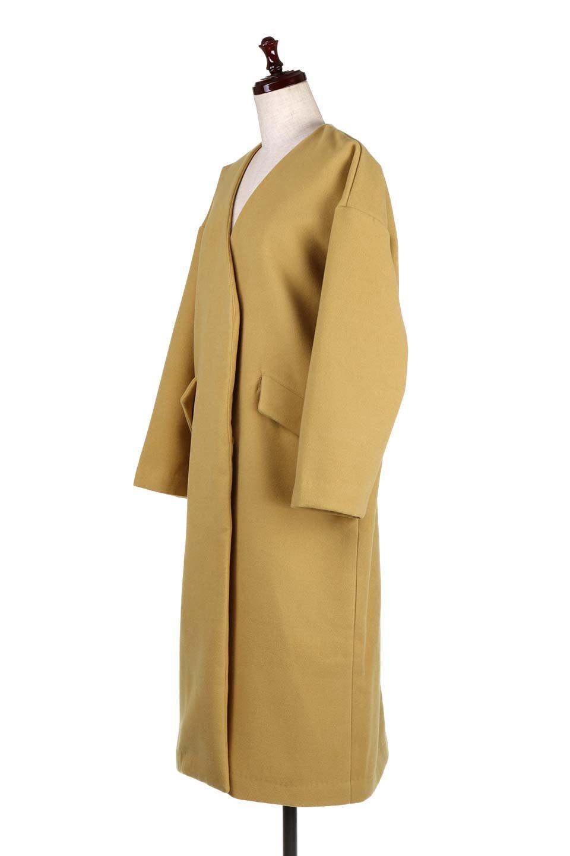 DropShoulderChesterCoatドロップショルダー・チェスターコート大人カジュアルに最適な海外ファッションのothers(その他インポートアイテム)のアウターやコート。オーバーサイズのドロップショルダー・チェスターコート。秋冬コーデでは絶対にはずせないチェスターコート。/main-6