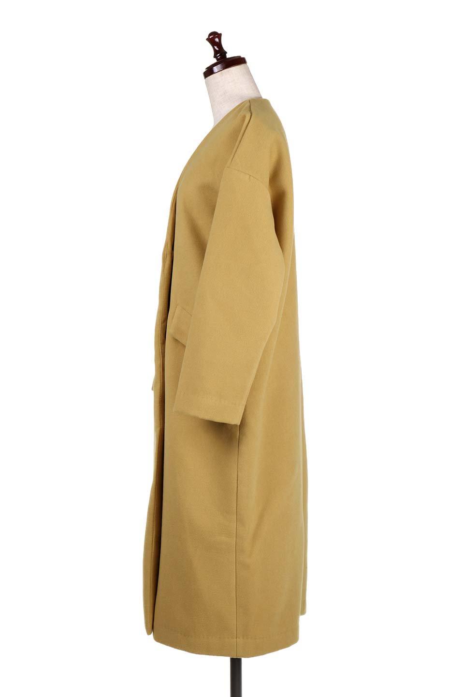 DropShoulderChesterCoatドロップショルダー・チェスターコート大人カジュアルに最適な海外ファッションのothers(その他インポートアイテム)のアウターやコート。オーバーサイズのドロップショルダー・チェスターコート。秋冬コーデでは絶対にはずせないチェスターコート。/main-7