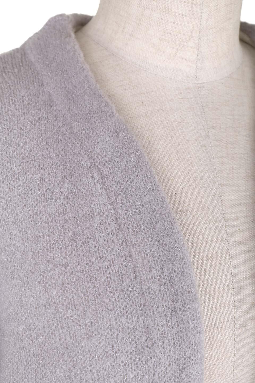 FauxFurPocketKnitCoadiganファーポケット・ニットコーディガン大人カジュアルに最適な海外ファッションのothers(その他インポートアイテム)のアウターやコート。ポケットのファーがポイントのニットコーディガン。薄手ですが裏地の見た目もキレイなダブルフェイスニットを使用。/main-6