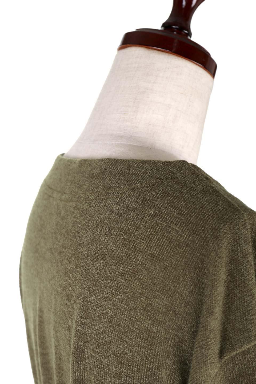 LongKnitDressw/Lace-UpSashBeltレースアップサッシュベルト付ワンピース大人カジュアルに最適な海外ファッションのothers(その他インポートアイテム)のワンピースやマキシワンピース。可愛いサッシュベルトが付属した薄手のニットワンピ。付属するスウェード風のサッシュベルトはギャザーやレースアップなど、単体でも使いまわせそうなクオリティです。/main-18
