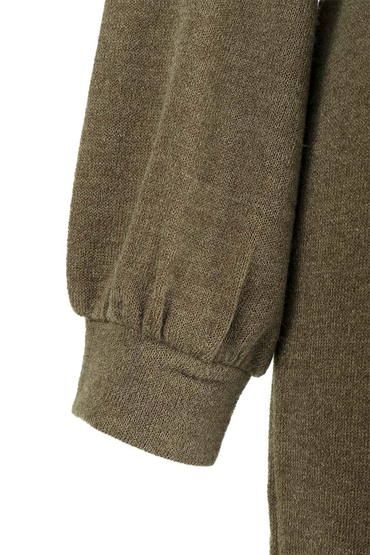 LongKnitDressw/Lace-UpSashBeltレースアップサッシュベルト付ワンピース大人カジュアルに最適な海外ファッションのothers(その他インポートアイテム)のワンピースやマキシワンピース。可愛いサッシュベルトが付属した薄手のニットワンピ。付属するスウェード風のサッシュベルトはギャザーやレースアップなど、単体でも使いまわせそうなクオリティです。/main-22