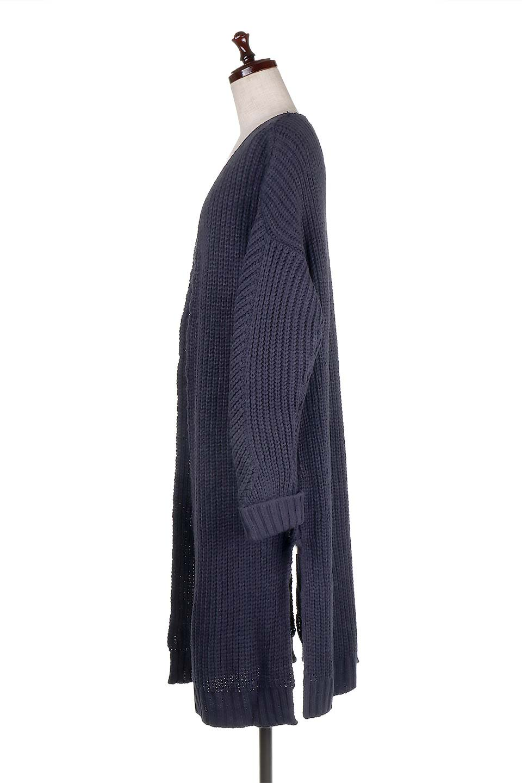 LongBulkyCardiganロングカーディガン大人カジュアルに最適な海外ファッションのothers(その他インポートアイテム)のアウターやカーディガン。ザックリ編みのロングカーディガン。動きやすいスリット入り。/main-12