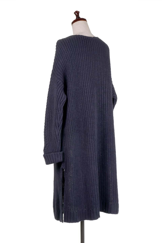 LongBulkyCardiganロングカーディガン大人カジュアルに最適な海外ファッションのothers(その他インポートアイテム)のアウターやカーディガン。ザックリ編みのロングカーディガン。動きやすいスリット入り。/main-13