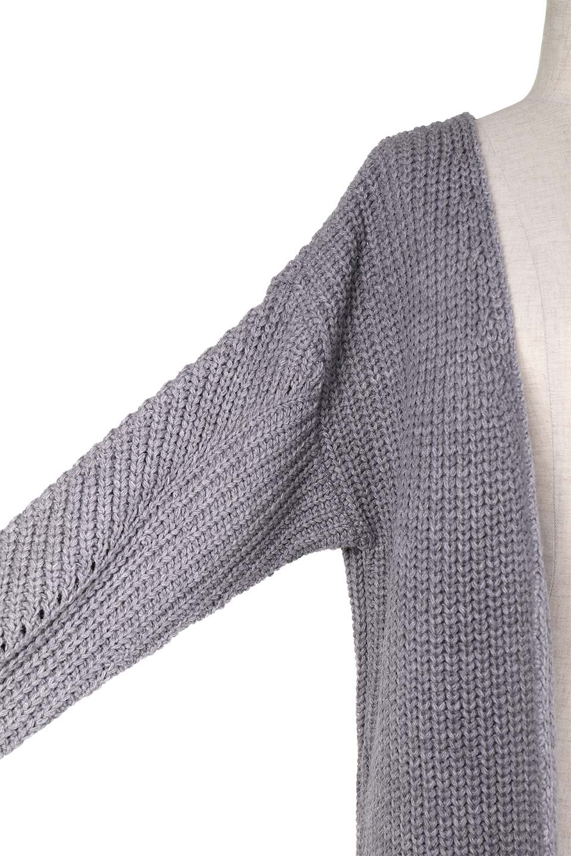 LongBulkyCardiganロングカーディガン大人カジュアルに最適な海外ファッションのothers(その他インポートアイテム)のアウターやカーディガン。ザックリ編みのロングカーディガン。動きやすいスリット入り。/main-21