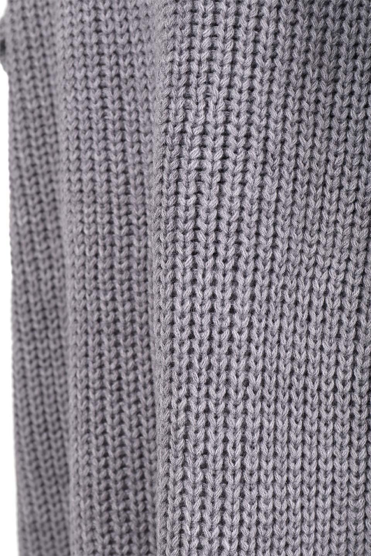 LongBulkyCardiganロングカーディガン大人カジュアルに最適な海外ファッションのothers(その他インポートアイテム)のアウターやカーディガン。ザックリ編みのロングカーディガン。動きやすいスリット入り。/main-22