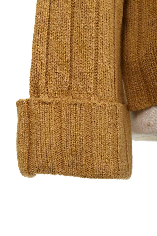 WideRibV-KneckTopワイドリブ・ニットトップス大人カジュアルに最適な海外ファッションのothers(その他インポートアイテム)のトップスやニット・セーター。ワイドリブのVネックセーター。幅広いコーデに使える万能トップスです。/main-23