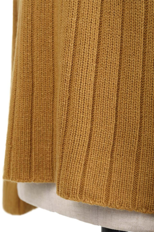 WideRibV-KneckTopワイドリブ・ニットトップス大人カジュアルに最適な海外ファッションのothers(その他インポートアイテム)のトップスやニット・セーター。ワイドリブのVネックセーター。幅広いコーデに使える万能トップスです。/main-24