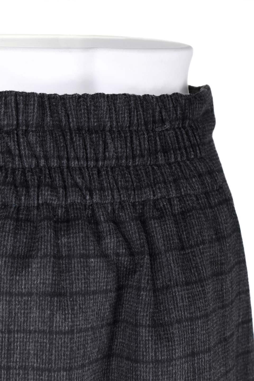 GlenCheckHighWaistSkirtグレンチェック起毛スカート大人カジュアルに最適な海外ファッションのothers(その他インポートアイテム)のボトムやスカート。人気のグレンチェックが目を引くハイウエストスカート。しっとりソフトな起毛ツイードでグレンチェック。/main-12