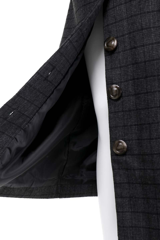 GlenCheckHighWaistSkirtグレンチェック起毛スカート大人カジュアルに最適な海外ファッションのothers(その他インポートアイテム)のボトムやスカート。人気のグレンチェックが目を引くハイウエストスカート。しっとりソフトな起毛ツイードでグレンチェック。/main-14